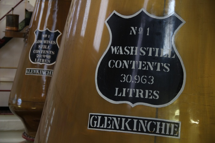 Glenkinchie Distillery Beautiful Stills