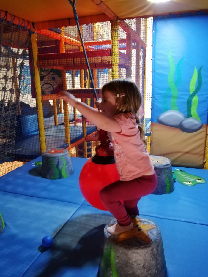 Scottish Borders Soft Play girl playing