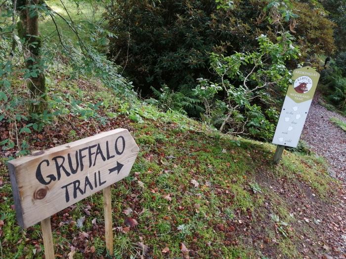Ardkinglas Woodland Gardens Gruffalo Trail