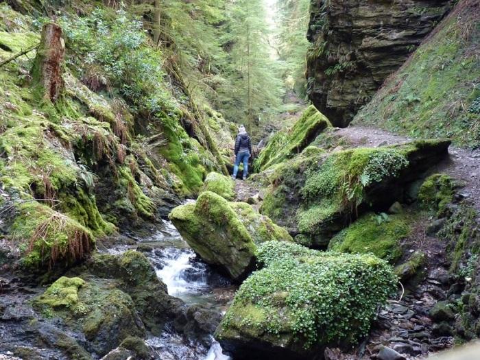 scottish glen waterfalls