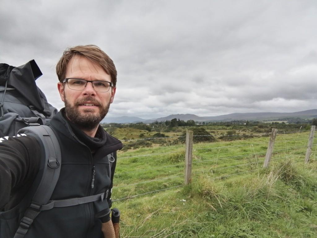 west highland way, scotland, loch lomond, guys with rucksack, hiking
