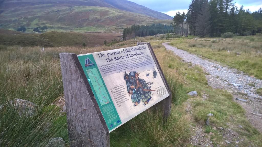 west highland way, scotland, inverlochy, pathway, forest