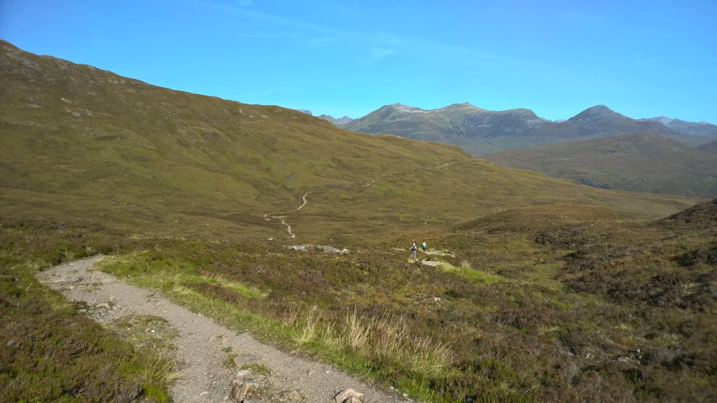 west highland way, scotland, mountains, steps, hills, pathway, countryside