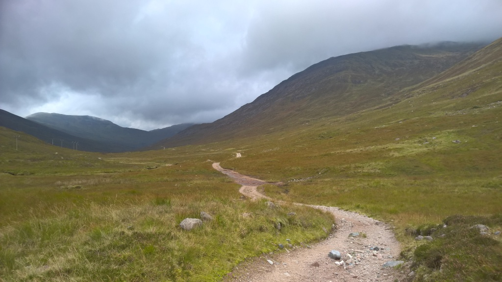 west highland way, scotland, pathway, mountains, countryside