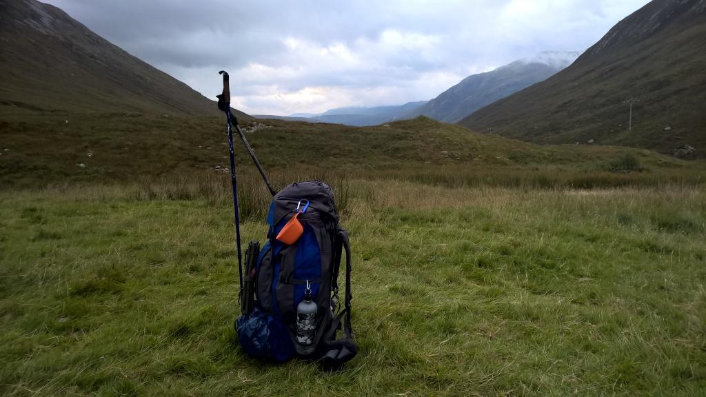 west highland way, scotland, mountains, rucksack, hiking gear