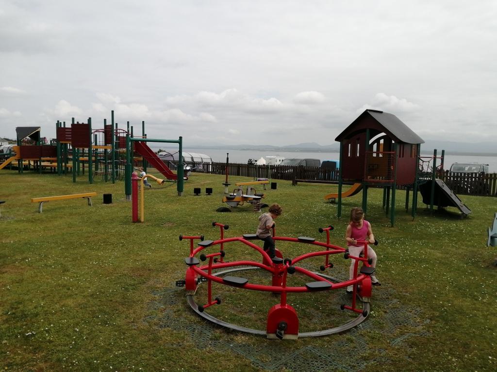 kids playing, playground, play park, islay, scotland