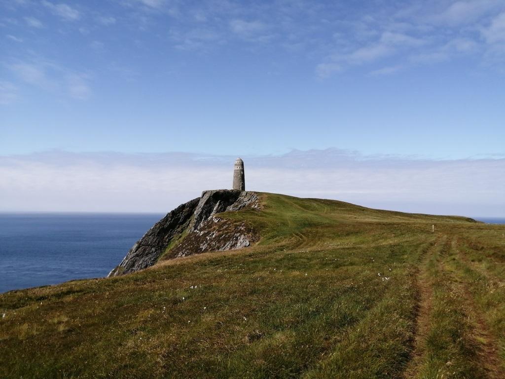 oa rspb reserve, american monument, outdoors, sea cliffs, blue skies, wildlife, islay, scotland