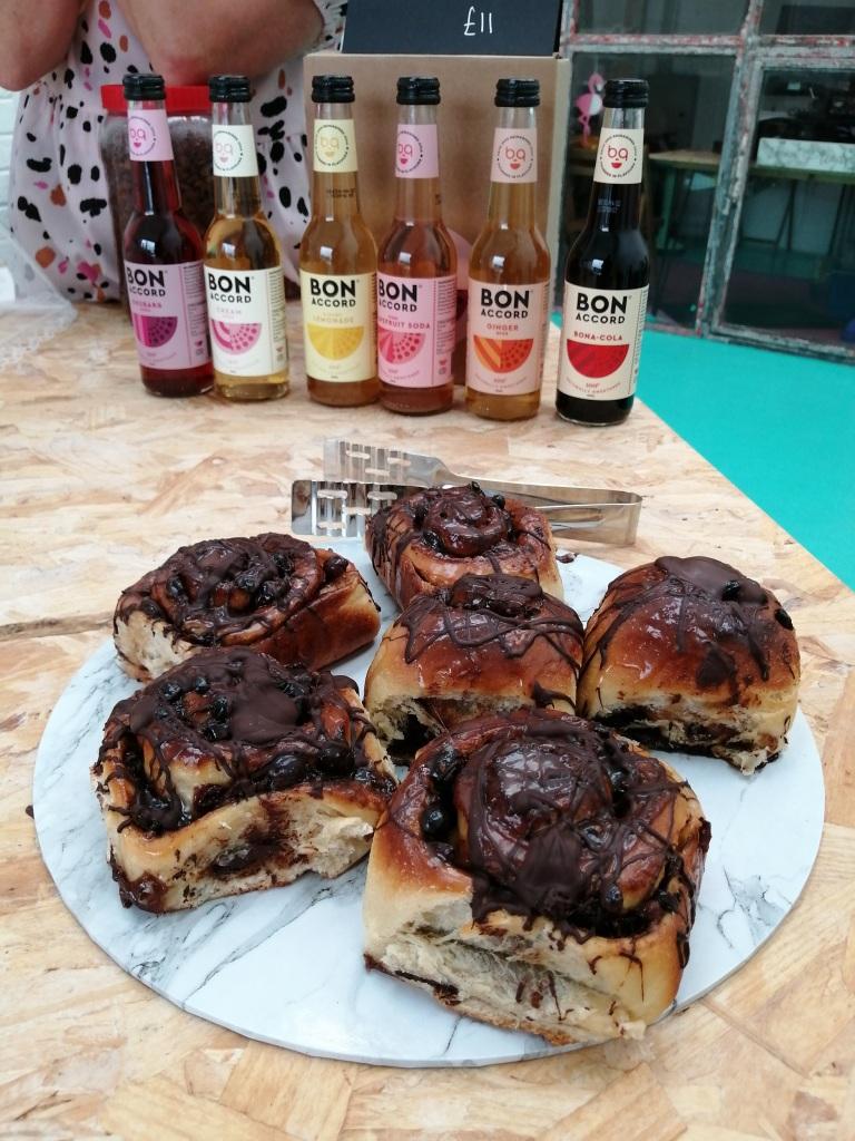 buns, bottles, bon accord, drinks, deer island rum, jura, scotland