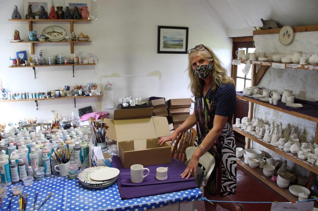 persabus pottery, ceramics, pottery, islay, scotland