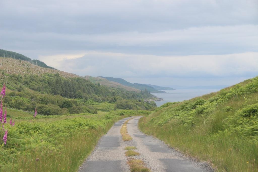 road, landcape, jura, scotland